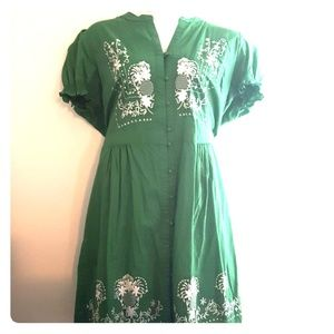 ModCloth Embroidered Retro-inspired Dress 3x NWOT
